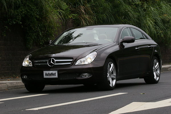 轿跑小改 M BENZ CLS350豪情 重新定义 操控与安全高清图片
