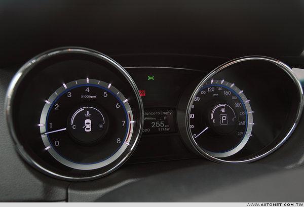 HYUNDAI Sonata 2.4 GLS试驾报导 设计与配备整体评析高清图片